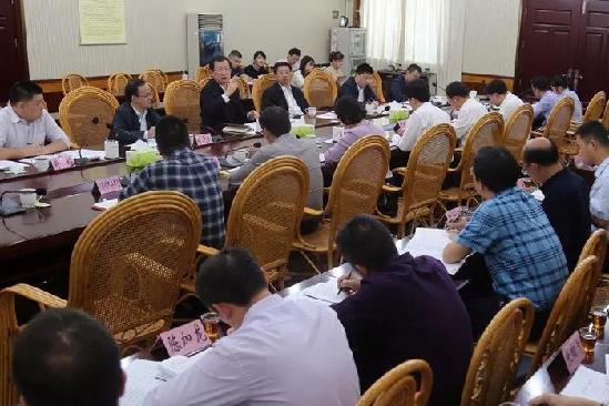 刘学新在泉州主持召开乡镇(街道)纪委书记座谈会